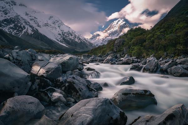 Dream Stream    Mt. Cook