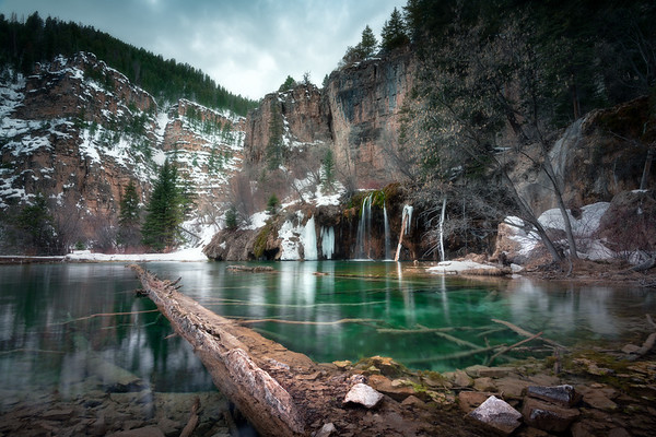 Emerald Freeze || Hanging Lake