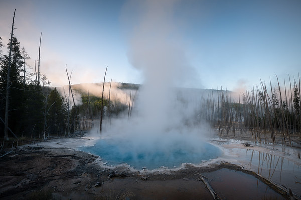 Cistern's Surprise    Yellowstone