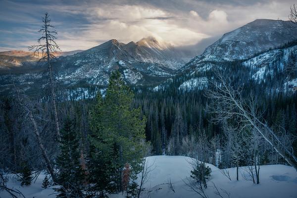 Slumbering Through    Rocky Mountain National Park