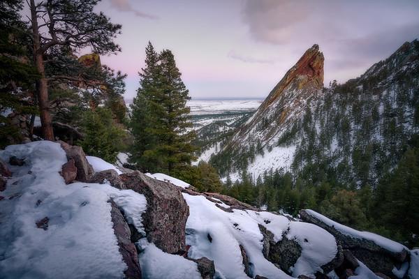 Jutting Iron    Boulder