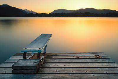 Sproat Lake sunset ... Vancouver Island