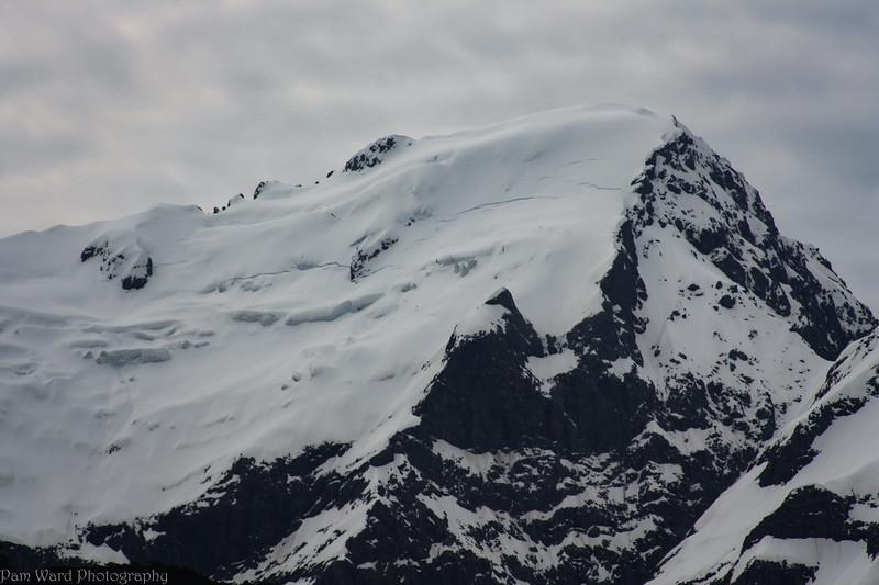 Snow Topped Peaks