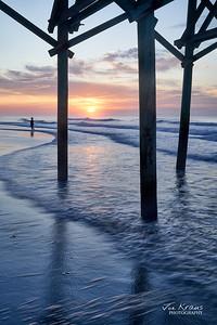 Peaceful Beach Sunrise II
