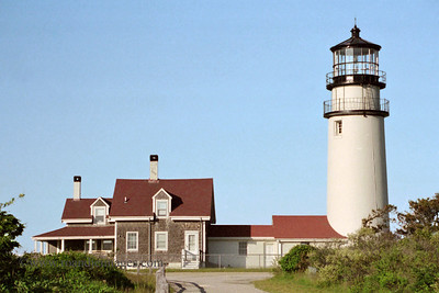 Cape Cod light (Highland Light), Cape Cod, MA