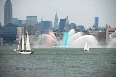 Fire Boat, New York Harbor