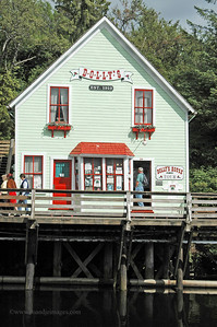 """Dolly's"", Creek Street, Ketchikan, AK"