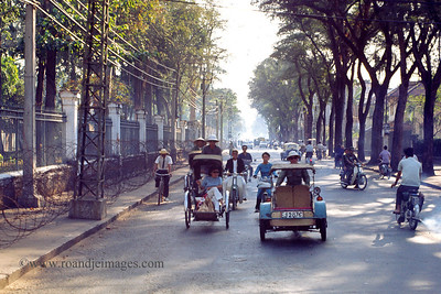Traffic- Saigon, Vietnam