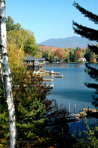 Mirror Lake, Lake Placid, NY