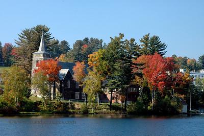 Mirror Lake, Lake Placid, NY