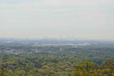 Atlanta, GA Skyline, from Kennesaw Mt