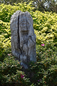 Indian Carving- Boot Cove Road, Lubec, ME