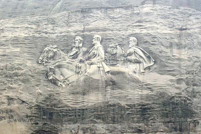 Stone Mountain, GA (Stonewall Jackson, Robert E. Lee, and Jefferson Davis)