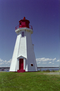 Mulholland Point Light, NB, Canada