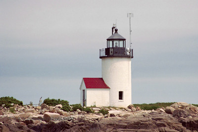 Goat Island Light, Cape Porpoise, ME