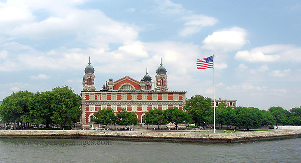 Ellis Island, Upper New York Bay, NY