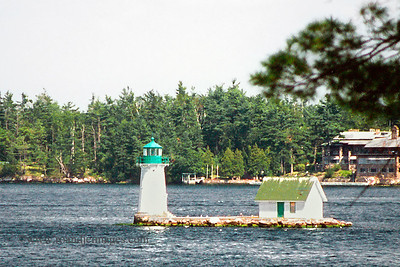 Sunken Rock Lighthouse, Alexandria Bay, NY