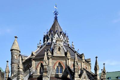 Parliament Library Building, Ottawa, Ontario, Canada