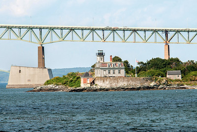 Rose Island Lighthouse, Naragansett Bay, RI
