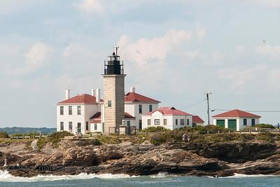 Beavertail Lighthouse, Conanicut Island, RI