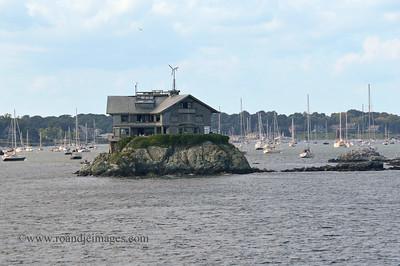 "Clingstone House (""House on a Rock""), ""The Dumplings"", Narragansett Bay, RI"