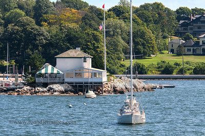 Lime Rock Light (Ida Lewis Rock Lighthouse), Newport, RI