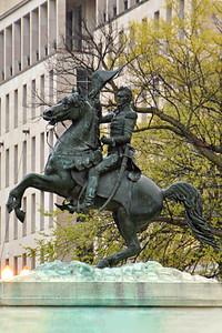 Andrew Jackson Statue, President's Park, Lafayette Square, Washington, DC