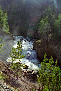 """Firehole Falls"", Firehole Canyon Drive, Yellowstone National Park, Wyoming"