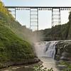 Middle Falls, Railroad Bridge, Letchworth Park