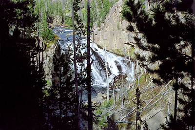 """Gibbon Falls"", Firehole Canyon Drive, Yellowstone National Park, Wyoming"