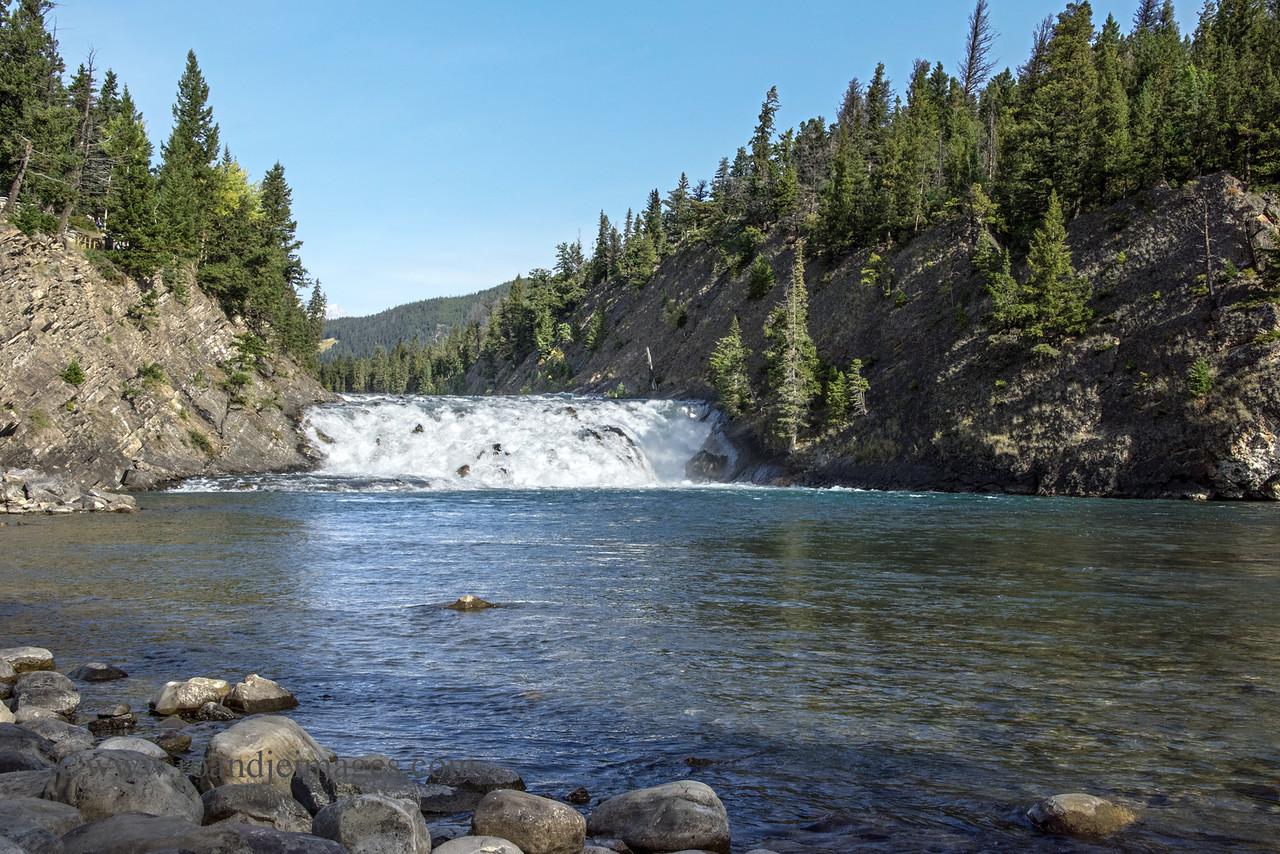 Bow River Falls, Banff, Alberta, Canada