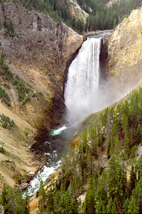 """Lower Yellowstone Falls"", Grand Canyon of Yellowstone, Yellowstone National Park, Wyoming"