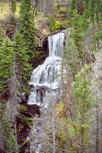 """Undine Falls"", Yellowstone National Park, Wyoming"