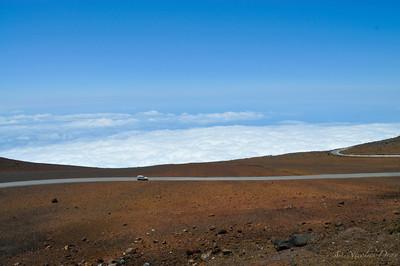 une des vue du sommet (~3000 m)