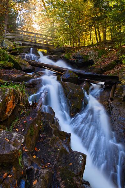 Dunlop Falls, Gatineau Park