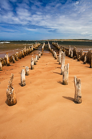 Remnants of a Pier on St. Peter's Bay