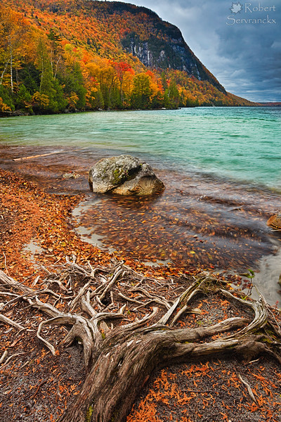 Lake Willloughby in Fall, Vermont