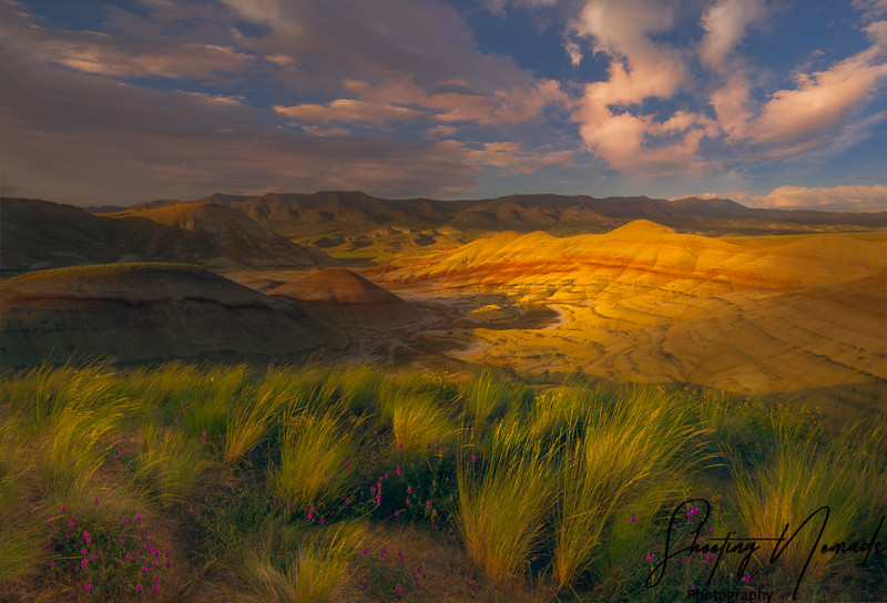 Painted Hills Sunset