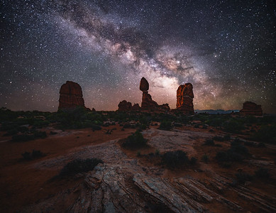 Balanced Rock Milky Way