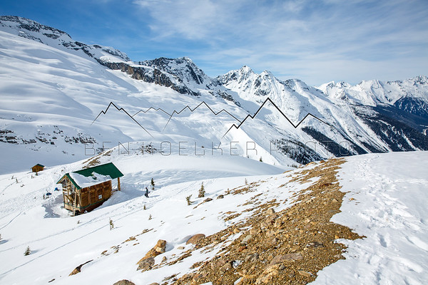 Asulkan Hut, Canadian Rockies, BC, Canada
