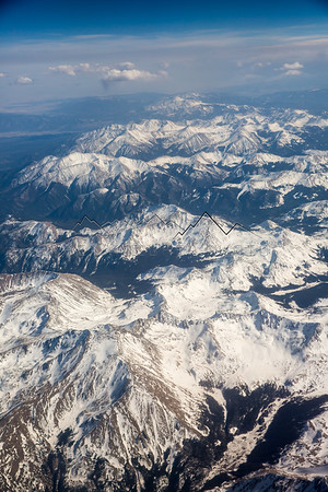 Colorado High Country from Above