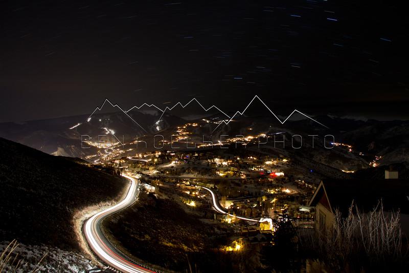 Wildridge and Beaver Creek, CO at Night