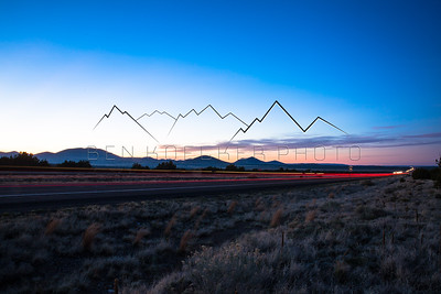 Long Exposure on Hwy 89 in Northern Arizona