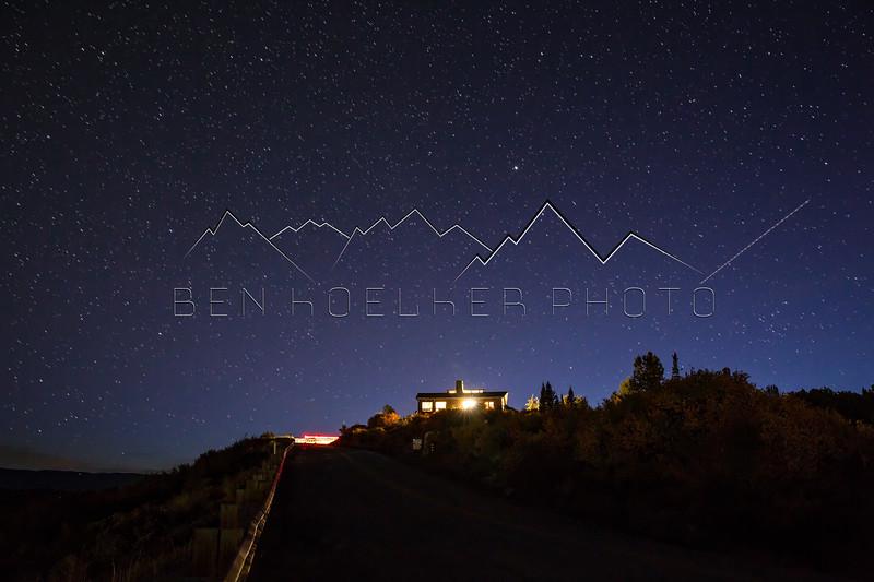Long Exposure Photos from Bellyache Ridge, CO