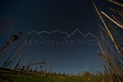 Long Exposure Photo near Granby, CO