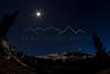 Night near Mount Kelso, CO