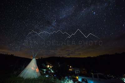 Long Exposures at Mission: Wolf, CO