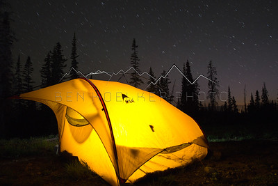 My tent outside of Eagle, CO