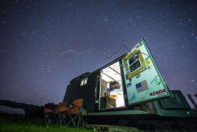 Long Exposure Photo, Los Alamos, CA