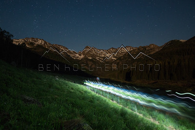 Long Exposure in the Gore Range, CO